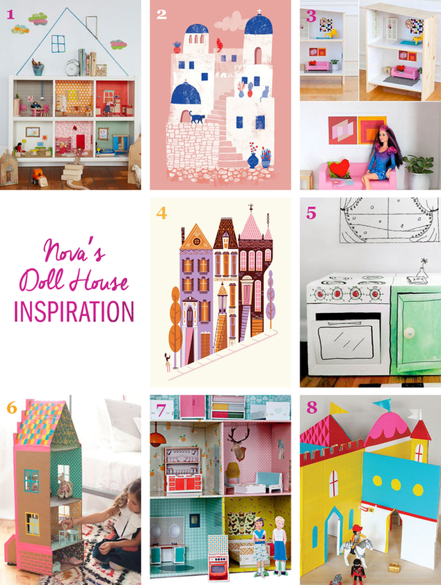 DIY Doll House Inspiration - Tonia Dee - toniadee.com/blog