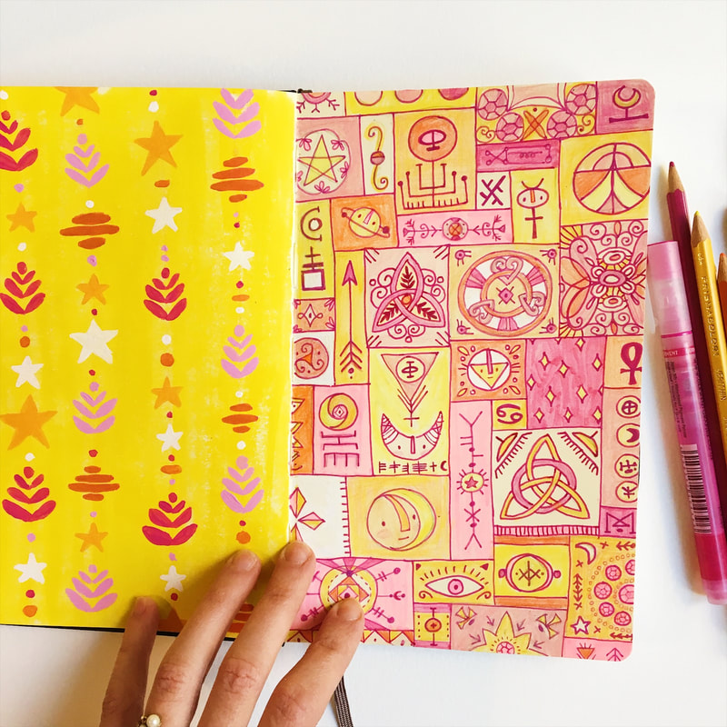 Tonia Dee sketchbook // surface pattern design and illustration // toniadee.com
